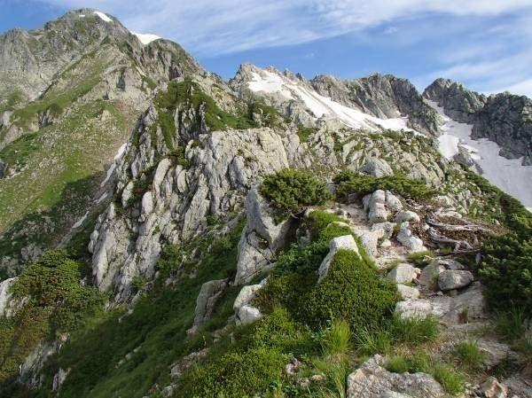 剱岳のルートガイド|おすすめ6ルート